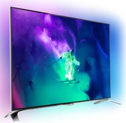 "65"" (165 см)  LED-телевизор Philips 65PUS9109 серебристый"