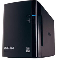 "3.5"" Внешний HDD Buffalo DriveStation Duo [HD-WL4TU3R1-EB]"