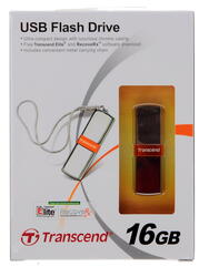 Память USB Flash Transcend JetFlash v85 16 Гб