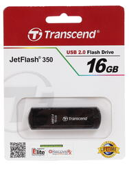 Память USB Flash Transcend JetFlash 350 16 Гб