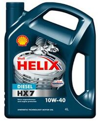 Моторное масло SHELL Helix Diesel HX7 10W40