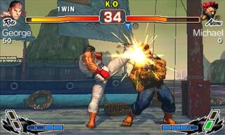 Игра для 3DS Super Street Fighter + Игра