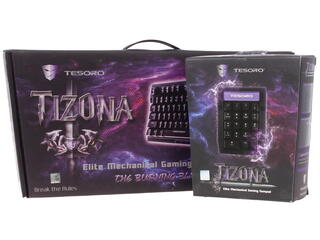 Клавиатура Tesoro Tizona Bundle