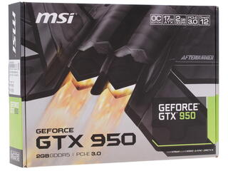 Видеокарта MSI GeForce GTX 950 OC [GTX 950 2GD5 OCV1]