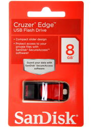 Память USB Flash SanDisk Cruzer Edge 8 Гб