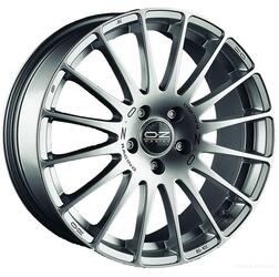 Автомобильный диск Литой OZ Racing Superturismo GT 7x17 5/100 ET 38 DIA 68 Race Silver + Black Lettering