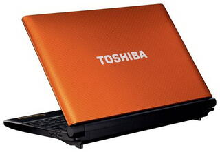 "10.1"" Ноутбук Toshiba (NB520-10Z)(WSVGA) /Orange"