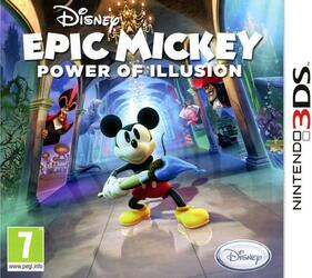 Игра для 3DS Epic Mickey: Power of Illusion