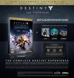 Игра для PS3 Destiny: The Taken King Legendary Edition