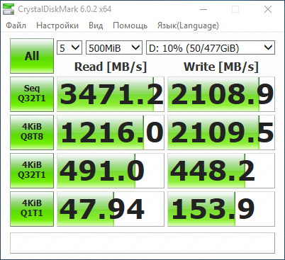 Kompyutery i komplektuyushcie - Obzor i test tverdotelnogo nakopitelya Patriot Viper VPN100 obemom 512 Gbayt