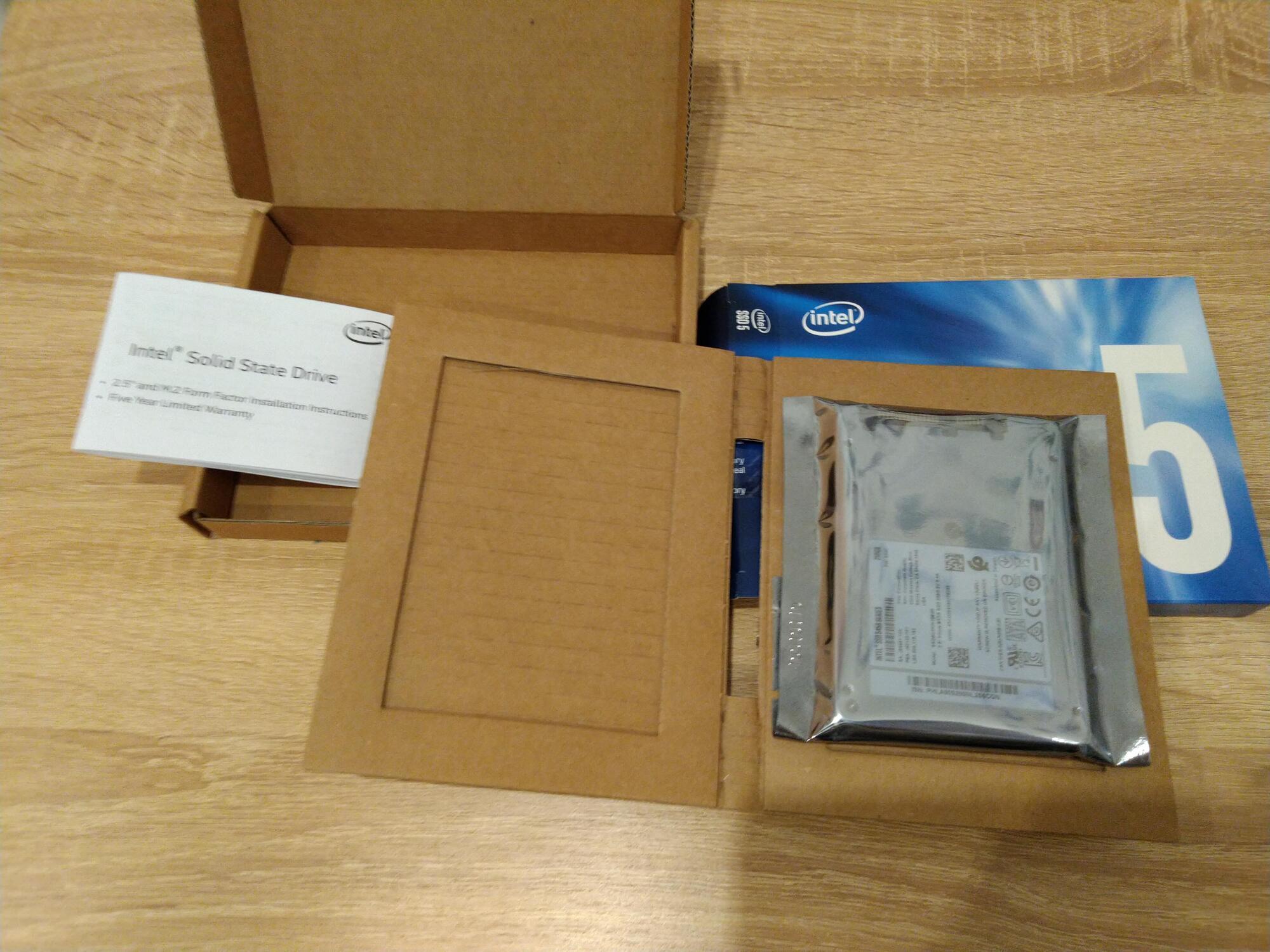 Kompyutery i komplektuyushcie - Obzor SSD INTEL 545s 256Gb SATA-III (SSDSC2KW256G8X1)