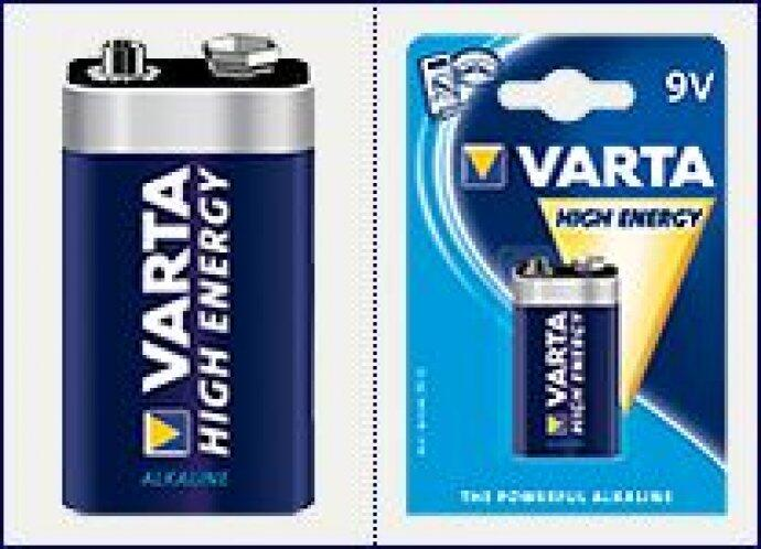Батарейки VARTA Energy AAA блистер 4  04103229414