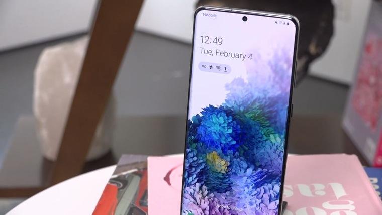 Дисплей Samsung Galaxy S20 Ultra