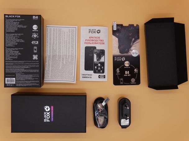 "Купить 4.95"" Смартфон Black Fox B4 mini NFC 8 ГБ черный в интернет магазине DNS. Характеристики, цена Black Fox B4 mini NFC"