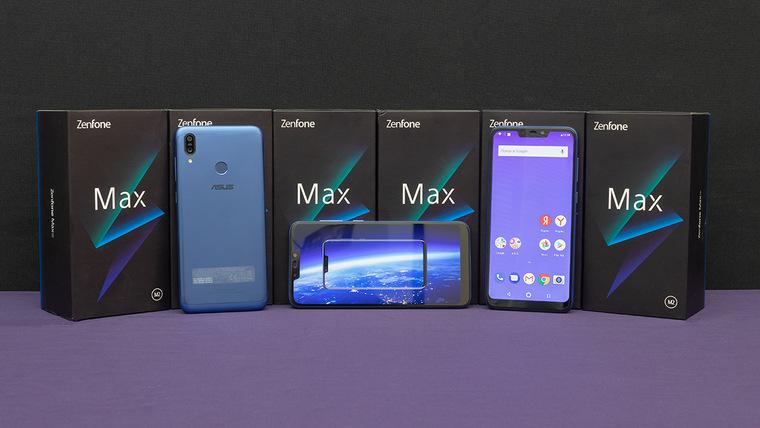 ASUS ZenFone Max Pro M1 — среднебюджетник с NFC и 5000 мАч