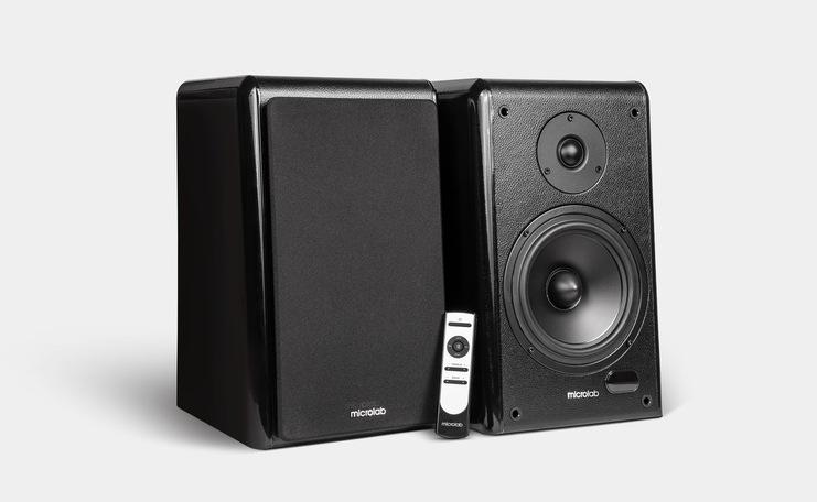 Microlab Solo16: концепция широкого звука