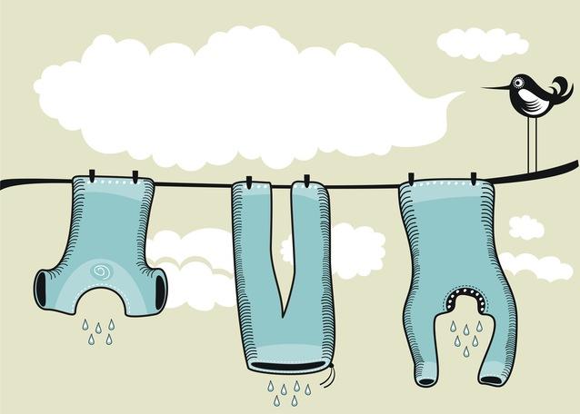 Почему нельзя сушить белье в квартире