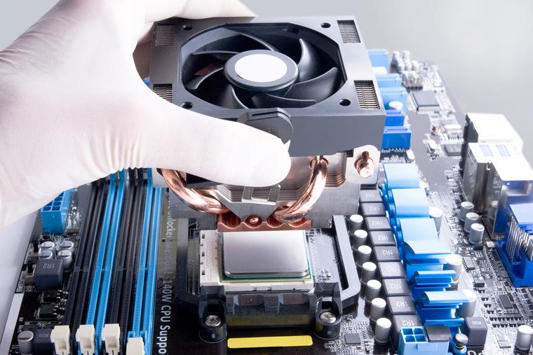 Как установить кулер процессора