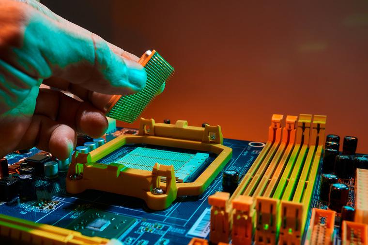 Как установить или заменить процессор в компьютере