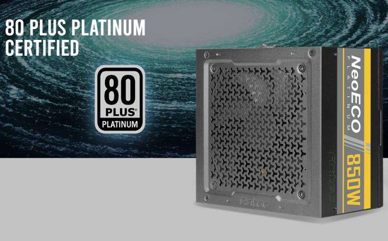 Antec анонсировала блоки питания NeoECO с платиновыми сертификатами
