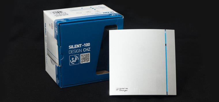 Обзор бытового вытяжного вентилятора Soler&Palau SILENT 100 CHZ SILVER DESIGN