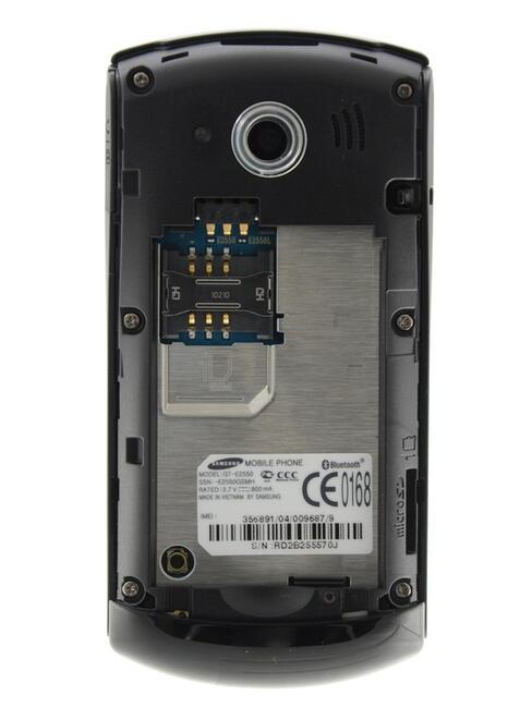 0e040a90c7d8 Купить Сотовый телефон Samsung GT-E2550 Black в интернет магазине ...