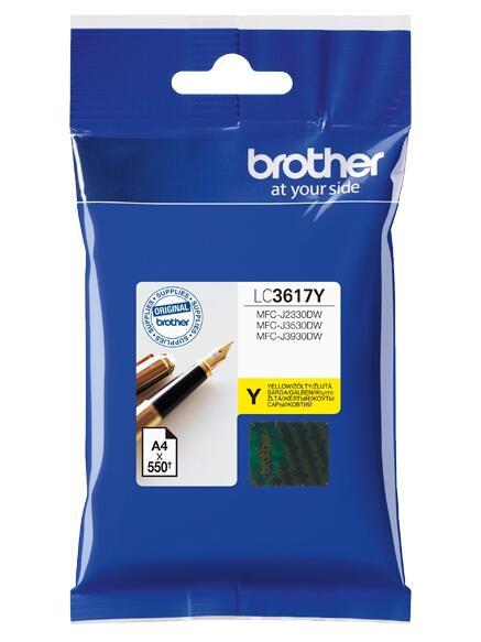 Картридж струйный Brother LC529XLBK