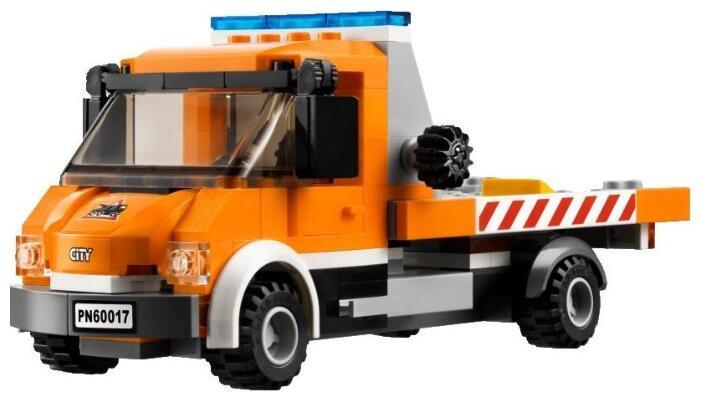лего сити эвакуатор 60017 инструкция