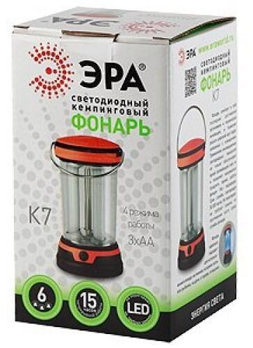 40827c4f9a3e Купить Фонарь ЭРА K7 в интернет магазине DNS. Характеристики, цена ...