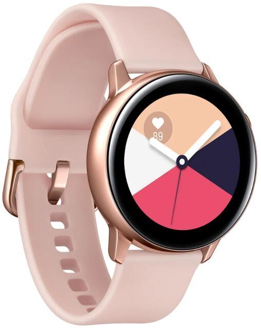 1ec7233d Купить Смарт-часы Samsung Galaxy Watch Active ремешок - розовый в ...