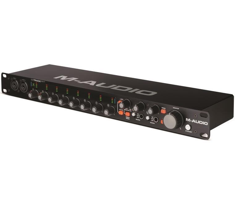 звуковая карта M-Audio M-Track Eight в интернет ...: https://www.dns-shop.ru/product/7a1a0316ac9c3330/vnesnaa-zvukovaa-karta-m-audio-m-track-eight/