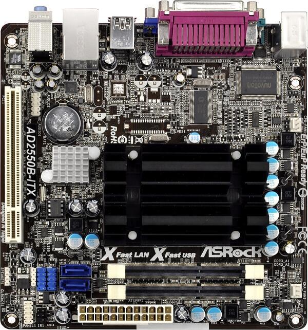ASRock AD2550-ITX Nuvoton CIR Update