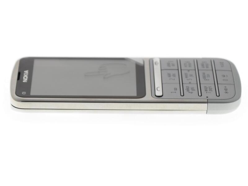 29366d5b6ce1a Купить Сотовый телефон Nokia C3-01 Silver в интернет магазине DNS ...