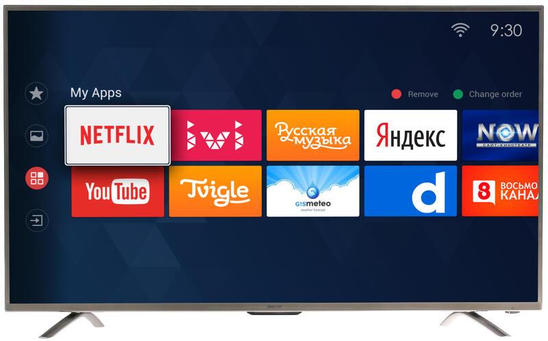 почему телевизор плохо воспроизводить интернет марка dexp