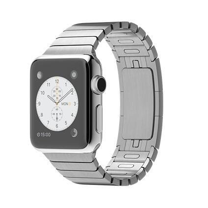 Купить Смарт-часы Apple Watch 38мм ремешок - серебристый в интернет ... a27dd3a1d6cb0