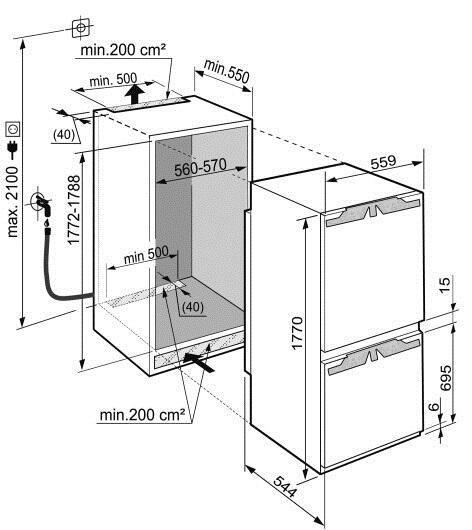 Liebherr icnp 3366 for Temperatura frigo da 1 a 7