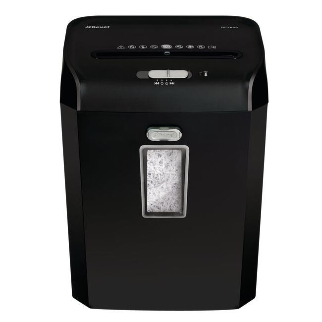 Корзина для бумаг цельнолитая,черная 18 литров