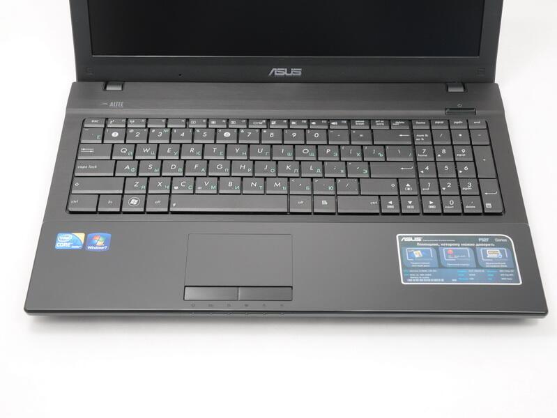 Asus P52F Notebook Intel VGA Windows 8