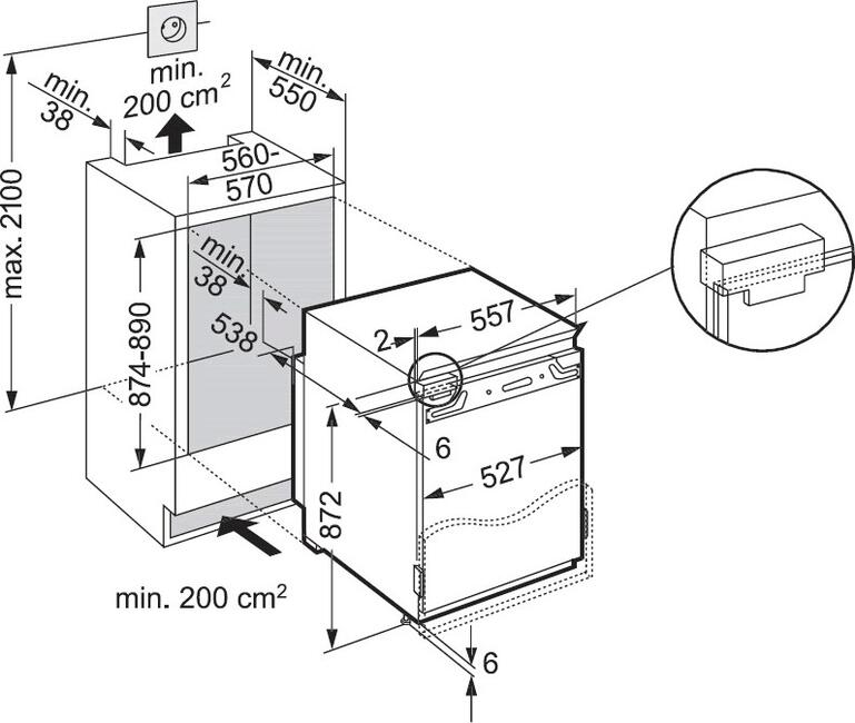 liebherr ign 1654 20 dns. Black Bedroom Furniture Sets. Home Design Ideas