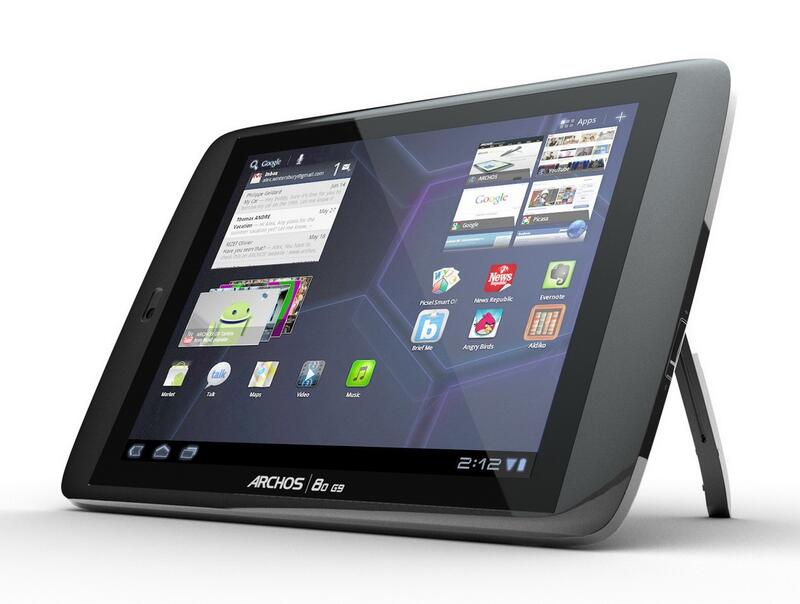 Archos 80 G9 Tablet Windows