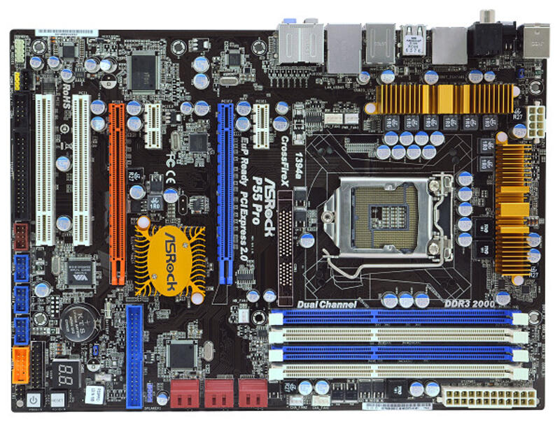 Asrock P55M Pro SATA RAID Windows 7 64-BIT