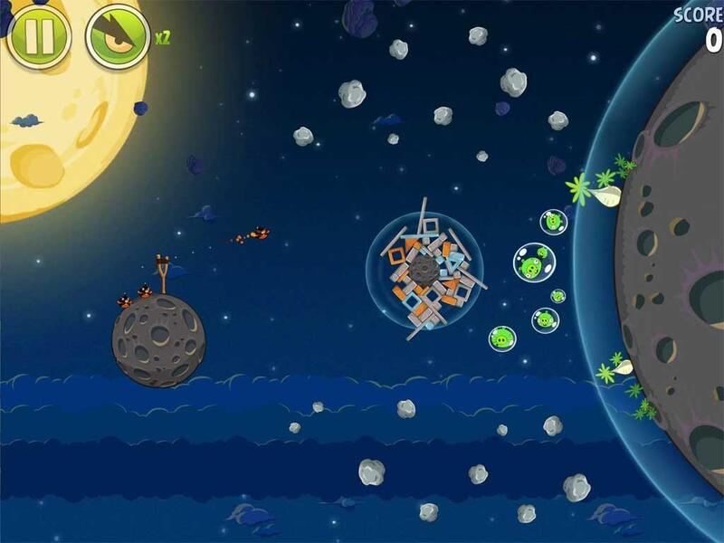 Angry Birds Space Typing  skywardgamescom