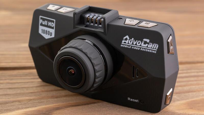 Avtotovary - Obzor videoregistrator AdvoCam-FD Black-II