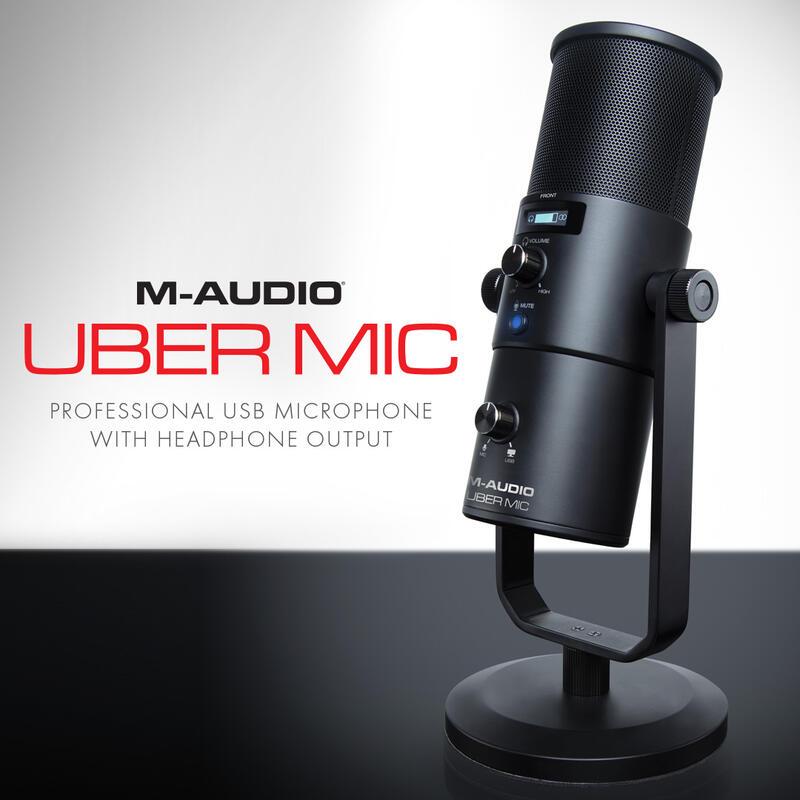 Personalnyy blog - Obzor mikrofona M-Audio - Uber Mic