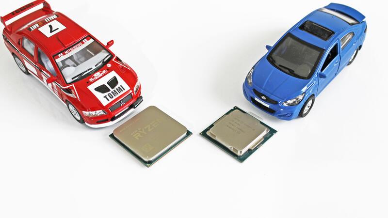 Kompyutery i komplektuyushcie - AMD Ryzen 5 2600 protiv Intel Core i5-8400 i Core i5-8600: O razgone i ego otsutstvii