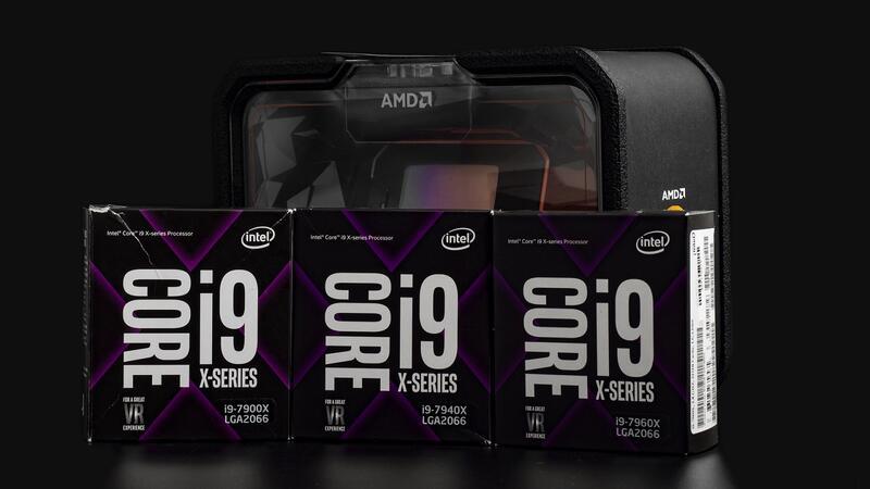 Kompyutery i komplektuyushcie - Obzor i testirovanie protsessorov Intel Core i9-7900X, i9-7940X, i9-7960X i AMD Ryzen Threadripper 2950X: Bitva Titanov