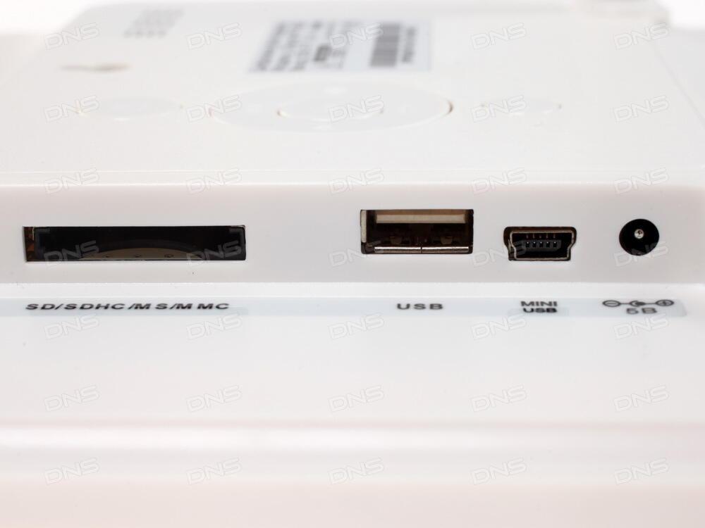 Цифровая фоторамка Ritmix RDF-1014