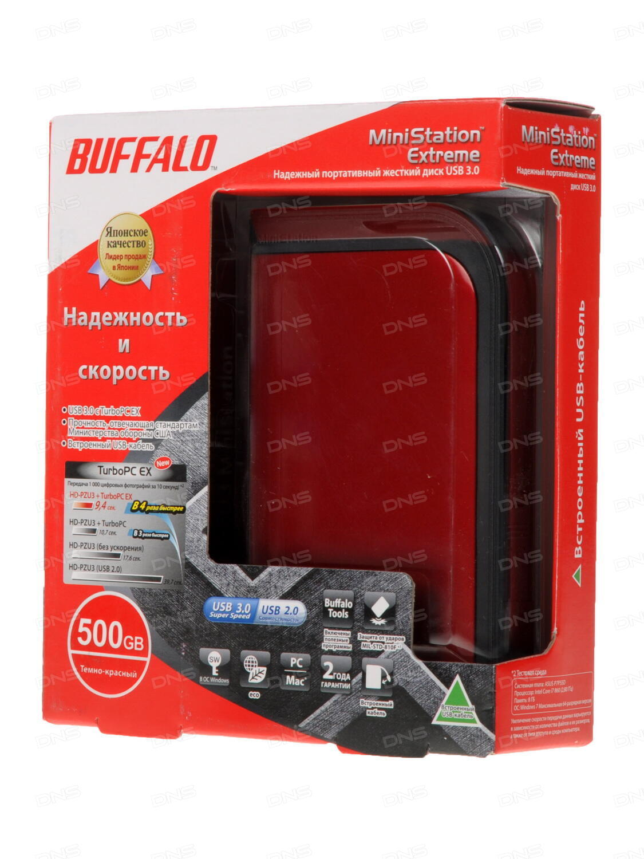 HDD Buffalo 500GB MiniStation Extreme 25