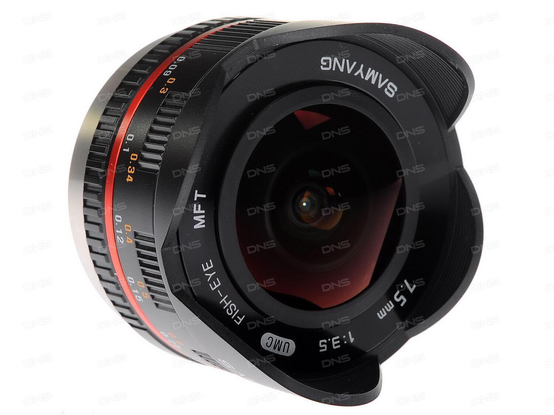 Объектив Samyang MF 14 mm f/2.8 MFT