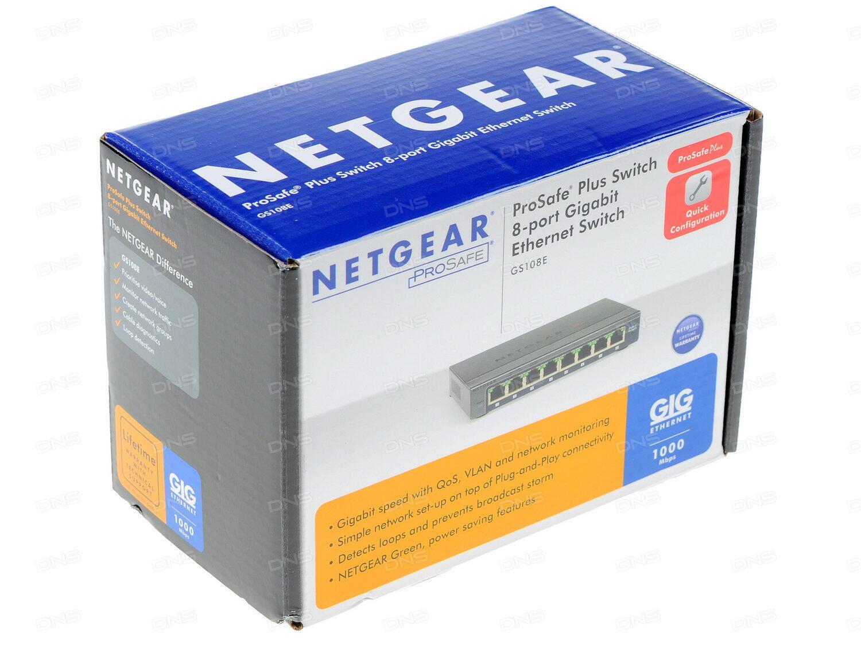 Коммутатор Netgear GS728TPP-100EUS 24 порта 10/100/1000Mbps 4xSFP